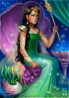 RATU LAUT KIDUL - QUEEN OF THE SOUTH SEA by jong-preanger