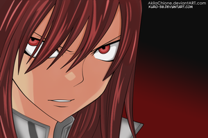 Erza's Wrath.. by kuro-38