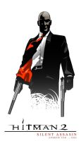 Agent 47 vector by spikeyblitz