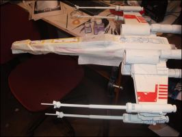 X-Wing revisited Painting process-02 by Hikaru84