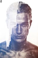 Double Exposure Portaits Effect by mounir-designs