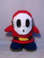 Shy Guy amigurumi by Eriamyv