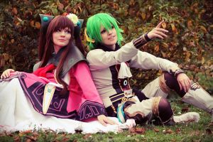 Lymle and Faize - Star Ocean by Fai89