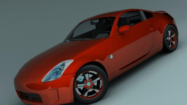 350z_red by CapraruConstantin