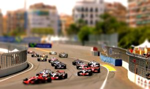 Tilt Shift F1 Racing 2008 by MowCroft