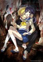 Corpse Party Yoshiki and Ayumi by Spriwel