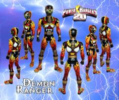 Demon Ranger by zombiemonkie