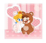 .:You're sweet as honey:. by CloTheMarioLover