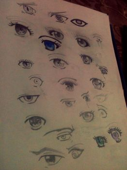 eye insanity by xMikideru