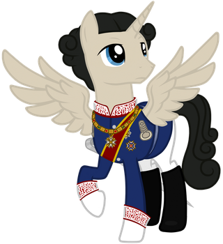 King Ludwig II of Bavaria (Pony Vector) by Neutron-Quasar