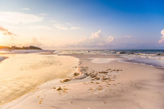 Dreamscape Beach Background Stock II by little-spacey