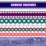 ScrappinCop Borders1 miniset by debh945