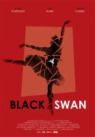 Black Swan movie poster by Zenithuk