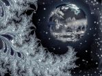 Ice planet by night by marijeberting