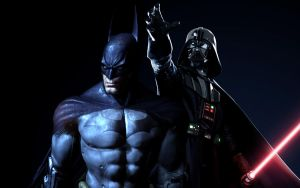 Batman vs Darth Vader - 01 by BATDANs