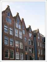 Houses in Amsterdam by goldmines