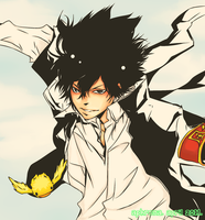 KHR: Hibari arrives by SqueezzzeeeeOrange