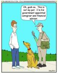 Animal Dependent cartoon by Conservatoons