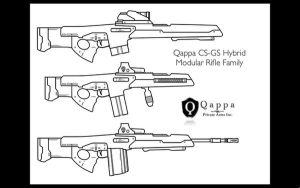 Qappa CS-GC Hybrid Rifle Famil by lemmonade