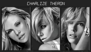 charlize - the one - drawing by JoeDieBestie