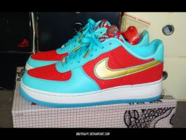 Nike Air Force 1 'YOTD II' 1 by BBoyKai91
