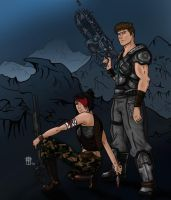 Gears of War - Commission by Metamorphous