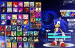 Sonic Chronicles X : Character select by trungtranhaitrung