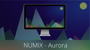 Numix Wallpapers - Aurora by PaoloRotolo