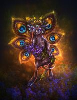 Night flower fairy by Poglazovs