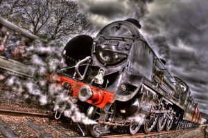 Locomotive Perspective HDR by nat1874