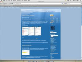 Firefox 3 on Mac OSX Leopard by trm96