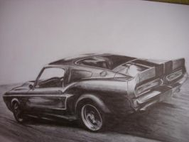 Shelby mustang by xKLSHx