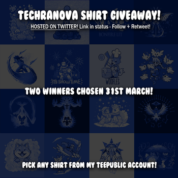 My Shirt Giveaway on Twitter - ENDED by SarahRichford