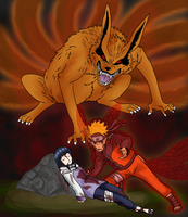 Enraged Naruto by Rindiny