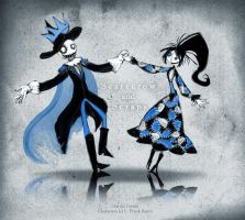 Scarecrow and Scraps by CottonValent