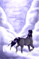 There are Horses in Heaven by StarBuster