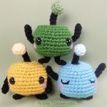 Junimos - free pattern by CraftyTibbles