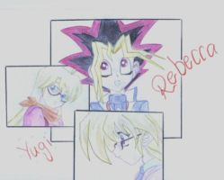 yugi and rebecca by Lus-Truewind