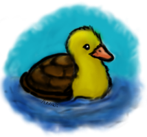 Turtle Duck by momodory09