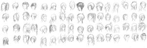 Hair dump by Himwath