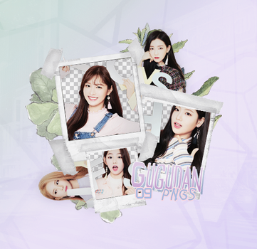 Gugudan   Pack PNG by ireadytogethurt