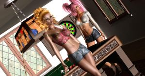 Pool Sharks by almeidap