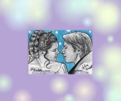 Han and Leia Marriage Star Wars Galactic Files by AngelinaBenedetti