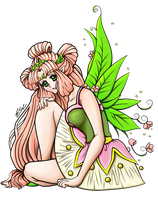 Fairy Princess -colored- by ESCanime