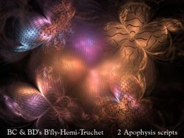 BC and BDs B'fly-Hemi-Truchet by Fractal-Resources