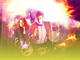 Doctor who blend by Miss-Chili