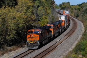 WB BNSF 7880 ES44DC by Pavloff-Photos