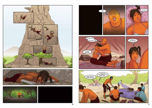 The Climb Pages 9 and 10 by phuvuong