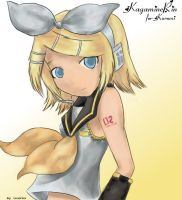 Kagamine Rin by JarshaNighhow