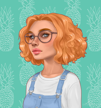 Pineapple by Libbie-Carr